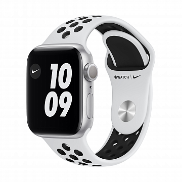 Apple_Watch_Nike_Series_6_GPS_40mm_Silver_Aluminum_Pure_Platinum_Sport_Band_34R_Screen__USEN_