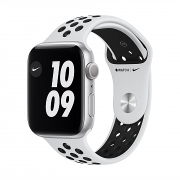 Apple_Watch_Nike_Series_6_GPS_44mm_Silver_Aluminum_Pure_Platinum_Sport_Band_34R_Screen__USEN_