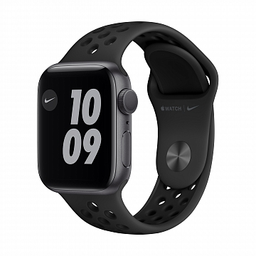 Apple_Watch_Nike_Series_6_GPS_40mm_Space_Gray_Aluminum_Anthracite_Sport_Band_34R_Screen__USEN_