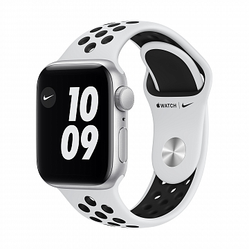 Apple_Watch_Nike_SE_GPS_40mm_Silver_Aluminum_Pure_Platinum_Sport_Band_34R_Screen__USEN_