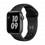 Часы Apple Watch Nike SE GPS, 40mm Space Gray Aluminium Case with Anthracite/Black Nike Sport Band -
