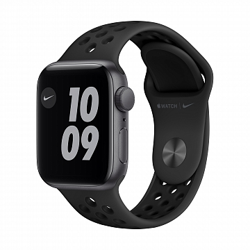 Apple_Watch_Nike_SE_GPS_40mm_Space_Gray_Aluminum_Anthracite_Sport_Band_34R_Screen__USEN_
